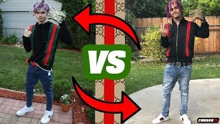 I Copied LIL PUMP'S Instagram Gucci Outfit