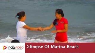 Glimpse Of Marina Beach Chennai Tamil Nadu