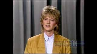 Johnny Carson: Ellen DeGeneres, 1987