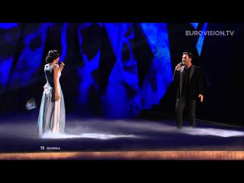 Nodi Tatishvili & Sophie Gelovani - Waterfall (Georgia) - LIVE - 2013 Semi-Final (2)