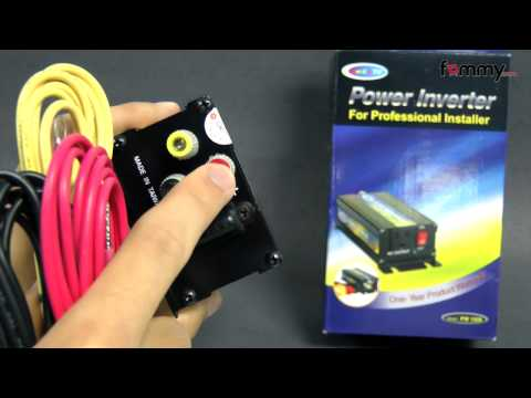 150-Watt DC to AC Mobile Power Inverter