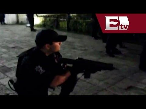 Detienen a manifestantes que exigían la liberación de El Chapo Guzmán / Paola Virrueta