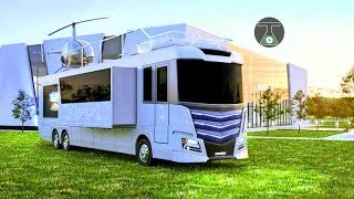 8 LUXURY MOTORHOME YOU CAN LIVE IN