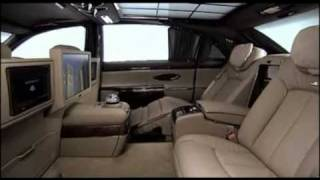 Maybach 62 S 2011 Interior And On The Road