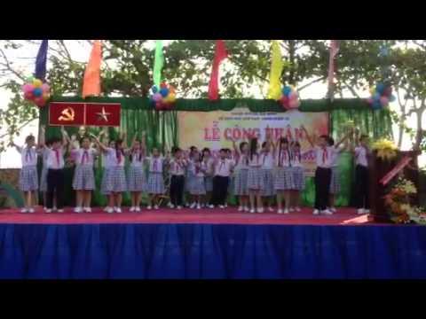 Trường THCS Nguyễn An Ninh biểu diễn văn nghệ