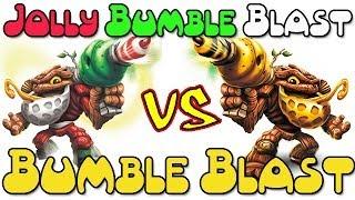 Skylanders Swap Force: Jolly Bumble Blast Vs. Bumble Blast