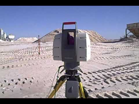 3-D Laser Scanning Volumetric Calculations Tampa, Florida
