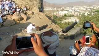 مدفع عزوة فنجاء عيد الأضحى المبارك2013