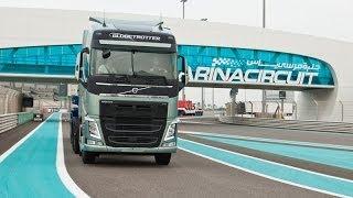 Volvo Trucks 2014 تجربة شاحنات فولفو
