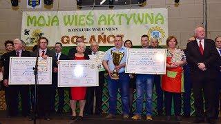 """W Gołańczy odbył się VI Finał Konkursu """"Moja Wieś Aktywna""""...."""