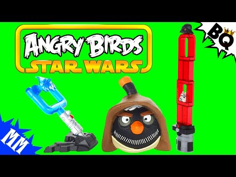 Angry Birds Star Wars Darth Vader Lightsaber Battle Game Review