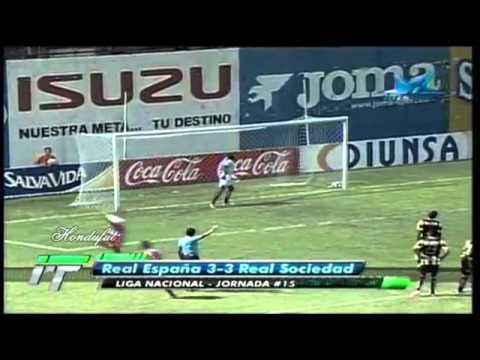 Real Espana 3-3 Real Sociedad Tocoa