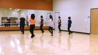 Cha Cha Burn Line Dance (Demo)