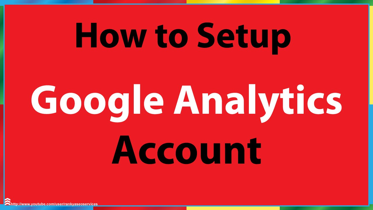 how to set up a new website in google analytics