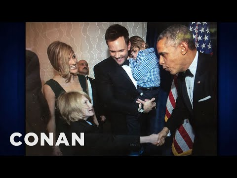 Joel McHale's Son Threw Up At The President's Party