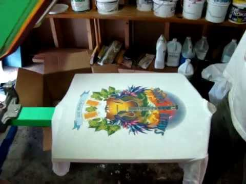 4 color cmyk screen printing process sixty six silk