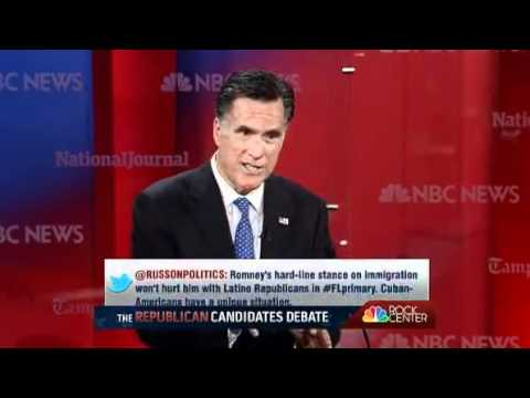 2012 GOP Debate In Tampa Florida (Full Length)