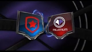 Gambit Gaming vs MILLENIUM Week 4 Day 2 EU LCS Summer Split ...