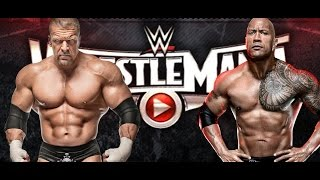WWE's Backstage Plans For Triple H vs. The Rock At WrestleMania 31 - BREAKING NEWS!!