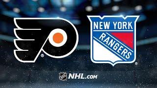 Giroux, Lyon lead Flyers past Rangers, 7-4