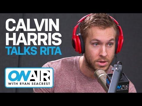 Calvin Harris Talks Rita Ora Drama   On Air with Ryan Seacrest