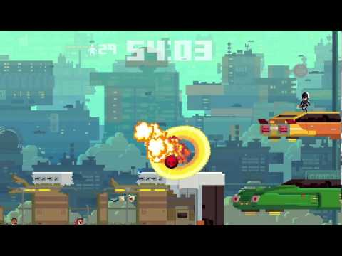 Super Time Force -  Gameplay from 'Future Past Future'