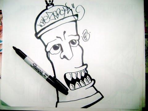 Dibujos para graffitis faciles a lapiz de latas , Imagui