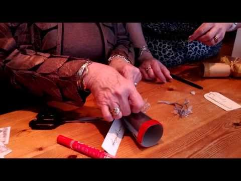 The Fat Chat Show learns out how to make Christmas Crackers from Sassy Property Styling