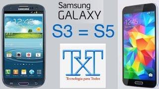 Como Convertir Tu Samsung Galaxy S3 I9300 En Un Galaxy S5