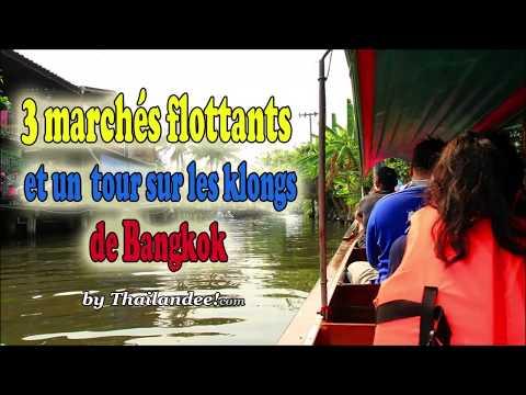 bangkok: 3 marchés flottants et un tour sur les klongs