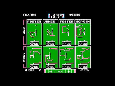 Tecmo Super Bowl 2014 (tecmobowl.org hack) - Tournament flyers vs Davideo7 - User video