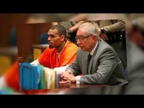 Chris Brown jailed for a month