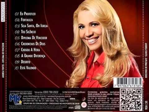 Andrea Fontes - Eu profetizo (CD Diploma de Vencedor)