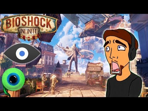 BIOSHOCK INFINITE with the OCULUS RIFT (VorpX) | PRETTIER THAN EVER BEFORE