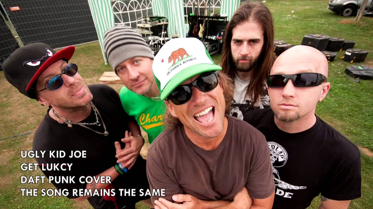 Ugly Kid Joe - Get Lucky (Daft Punk Cover) - YouTube