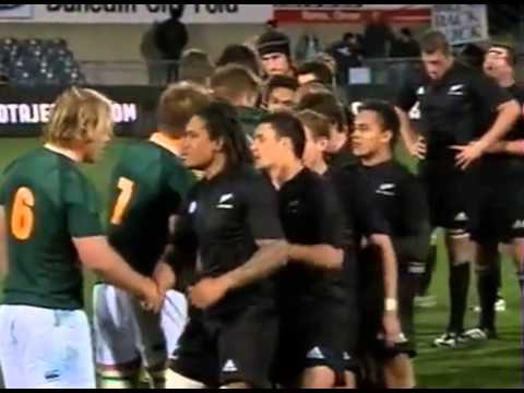 Springbok tribute to Nelson Mandela