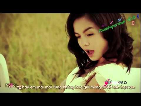 [Kara + Lyrics] Người Đứng Sau Hạnh Phúc - Phạm Quỳnh Anh