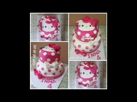 Торты.Hello Kitty. Zemfiras tortebi г.Тбилиси