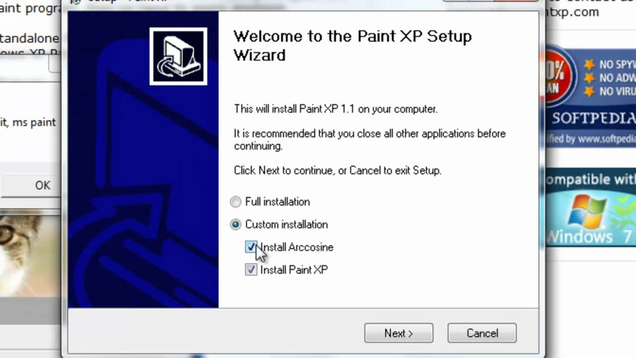 How to download ms paint on windows 7 youtube Paint software free download