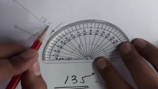How To Construct Angles 105 120 135 150 Degrees Compass