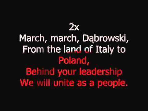 Polish National Anthem with English Subtitles [demo]