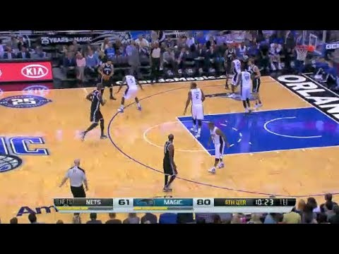 NBA Brooklyn Nets vs Orlando Magic Game Highlights November 3 2013