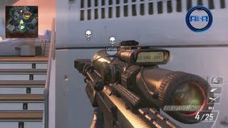 BLACK OPS 2 Multiplayer GAMEPLAY SNIPING DSR & B23R Best