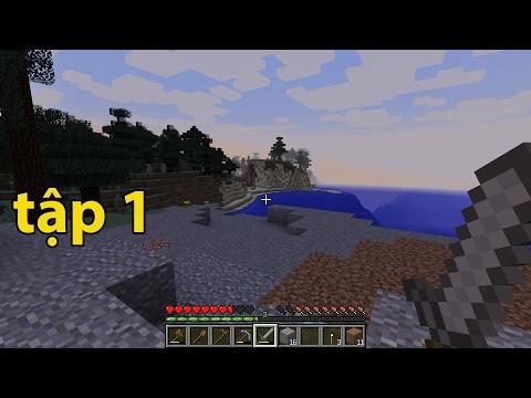 ngày Sinh Tồn Đầu Tiên  Bình Luận Minecraft | Tập 1 | Mr Thắng Minecraft|