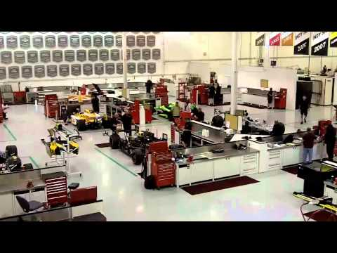 Andretti Autosport Shop Cam - Oct. 7, 2011