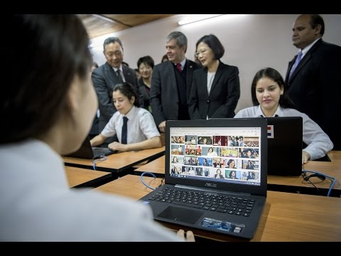 President Tsai attends ceremony for computer donations by ASUS Foundation