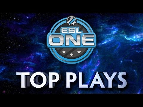 Dota 2 ESL One - Top Plays