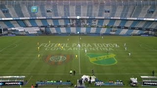 Fútbol en vivo. San Lorenzo - Defensa. 8vos. Copa Argentina. FPT.