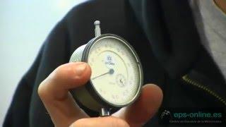Correcta medición de un cilindro