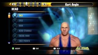 WWE All Stars CAW Kurt Angle Gameplay + Formula
